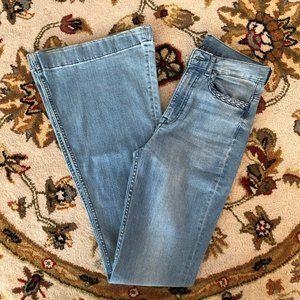 H&M Divided Super Bell Bottom Jeans